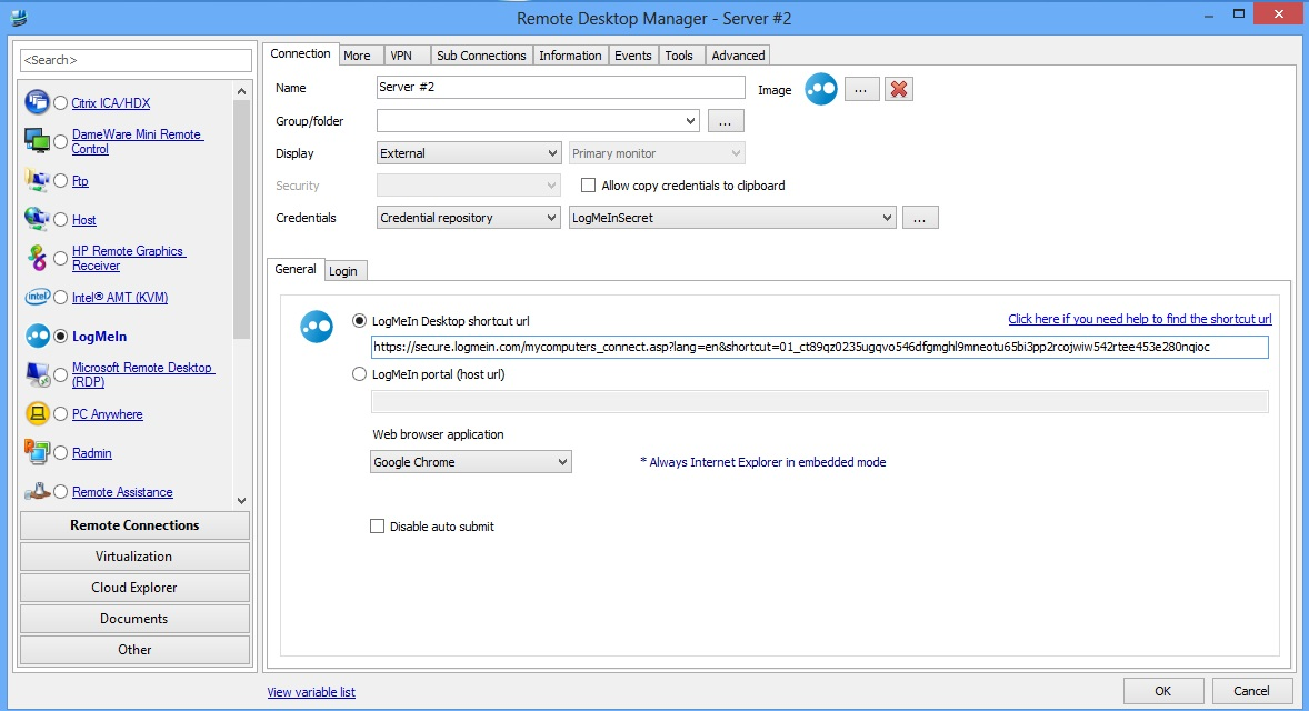 Screenshot - Remote Desktop Manager Server #2
