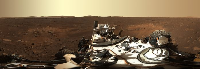 Linux in Helicopter on Mars