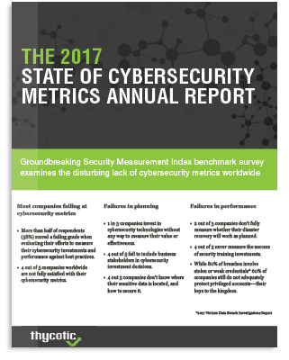 2017 State of Cyber Security Strategy Metrics Annual Report