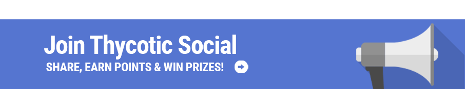 Join Thycotic on Social Media and win prizes for sharing