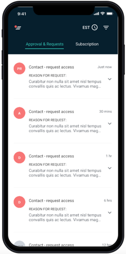 Phone Screenshot - Mobile Privileged Access Management App