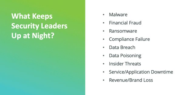 What keeps security leaders up at night?