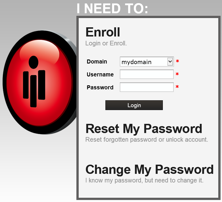 Password Reset Server Login