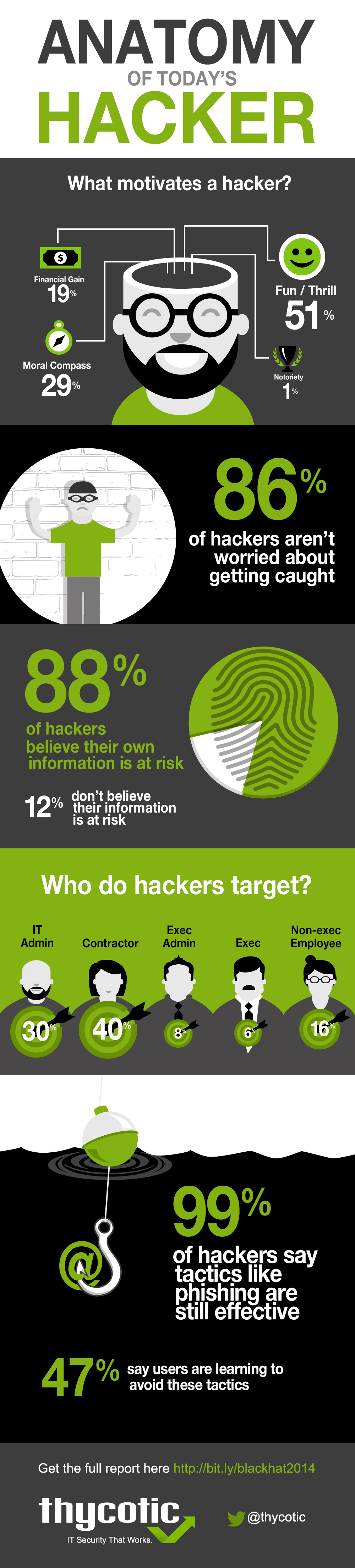 Black Hat Hacker Infographic - Anatomy of Today's Hacker