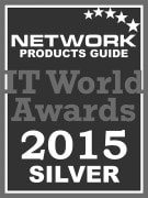 Award - Network Products Guide 2015 Silver