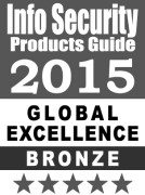 Award - Info Security Products Guide 2015 Global Excellence