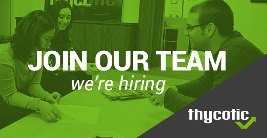 Join Our Team - Thycotic is Hiring!