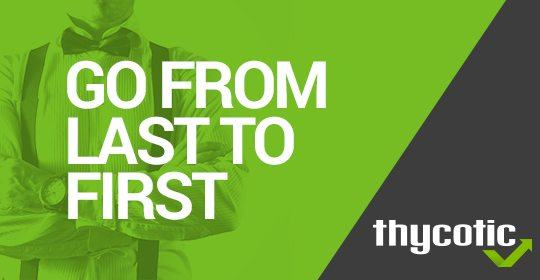 Go From Last to First - Blog Header