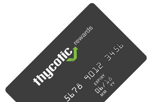 Thycotic Rewards Card