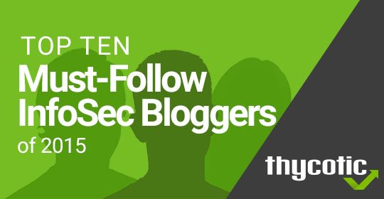 Top Ten Must-Follow Info Security Experts 2015