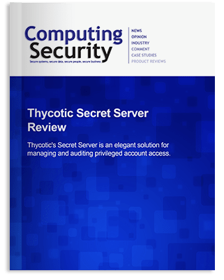 Computing Security - Secret Server Review