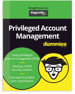 FREE Privileged Account Management for Dummies book