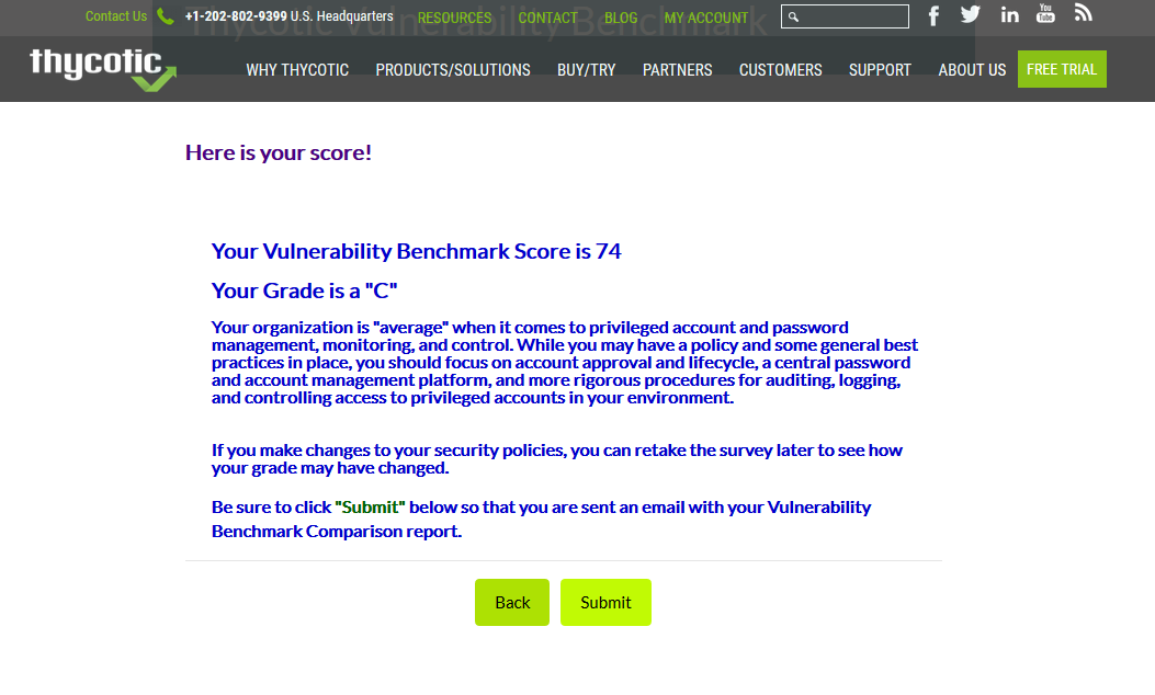 Password Vulnerability Benchmark Sample Score