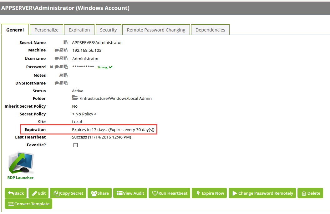 Automatically expire Windows passwords on a schedule