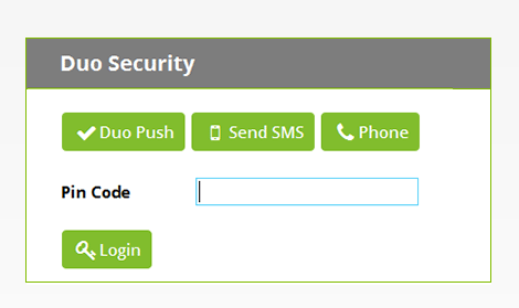 Duo Security, a two-factor authentication solution provided by security company Duo, is supported by Secret Server.
