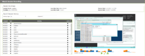 Watch and manage session recording in real time