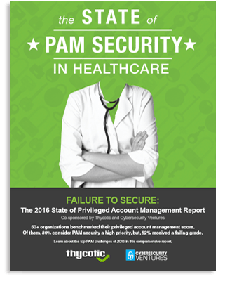 State of PAM Security in Healthcare