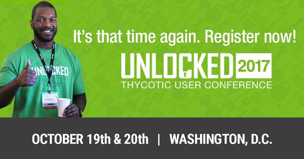 Register now for UNLOCKED 2017