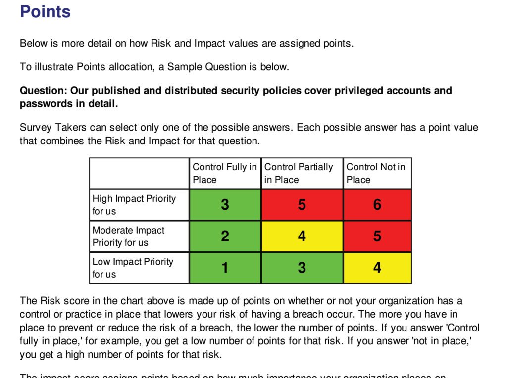 Cyber security risk assessment tool for privileged for Risk assessment security survey template