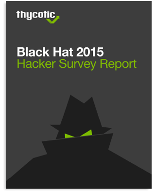 Black Hat Hacker Survey Report 2015