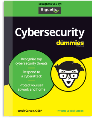 FREE Cybersecurity for Dummies ebook