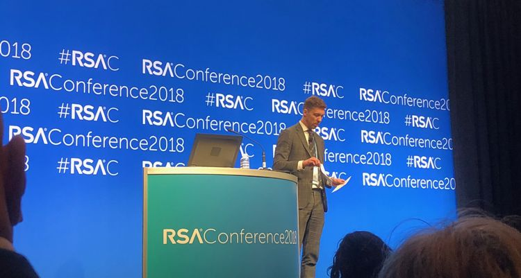 Juhan Lepassaar at RSA 2018