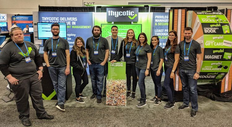 The Thycotic Team at RSA 2018