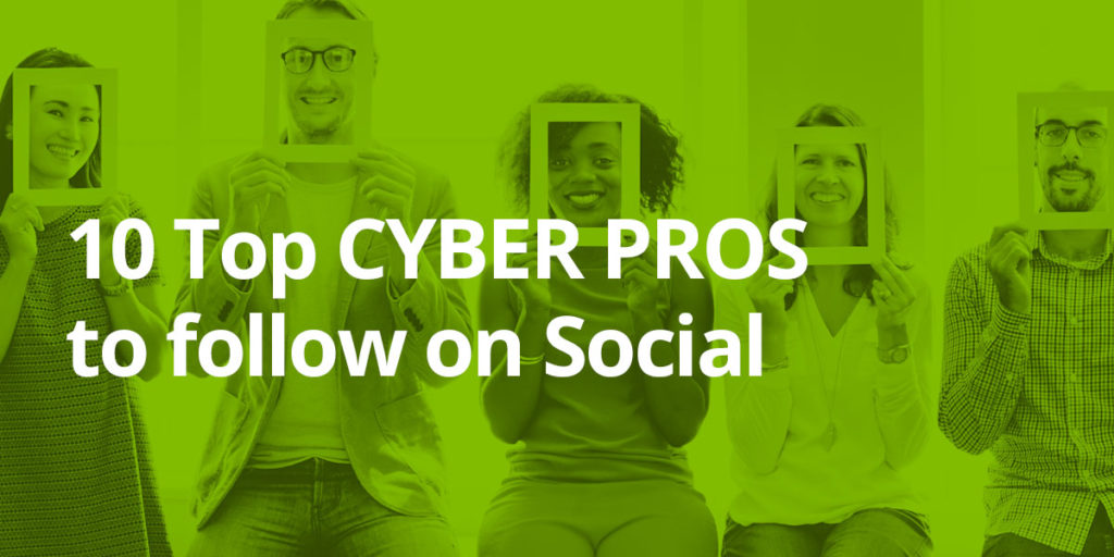 10 Top Cyber Experts to Follow on Social Media