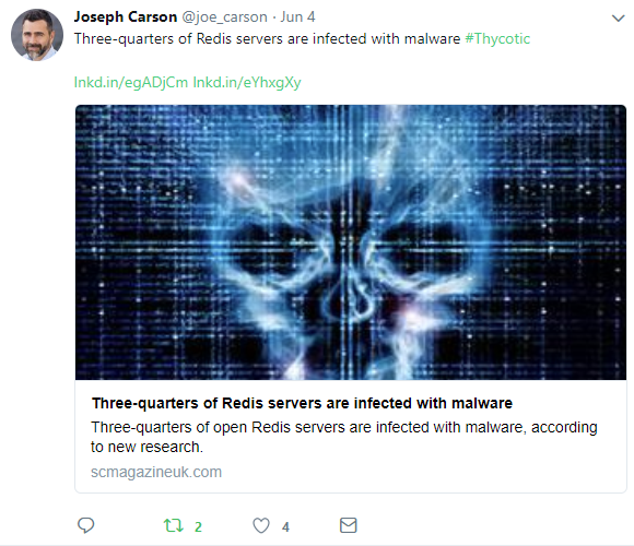 Joseph Carson, cyber-security expert, speaker, and author of Cybersecurity for Dummies