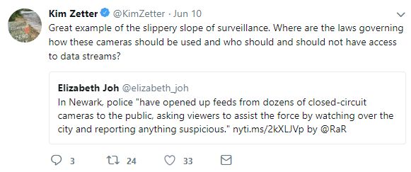 """Kim Zetter, author of """"Countdown to Zero Day: Stuxnet and the Launch of the World's First Digital Weapon"""""""