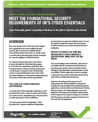 Meet Compliance Requirements for UK Cyber Essentials