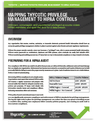 Meet PAM Compliance Requirements for HIPAA