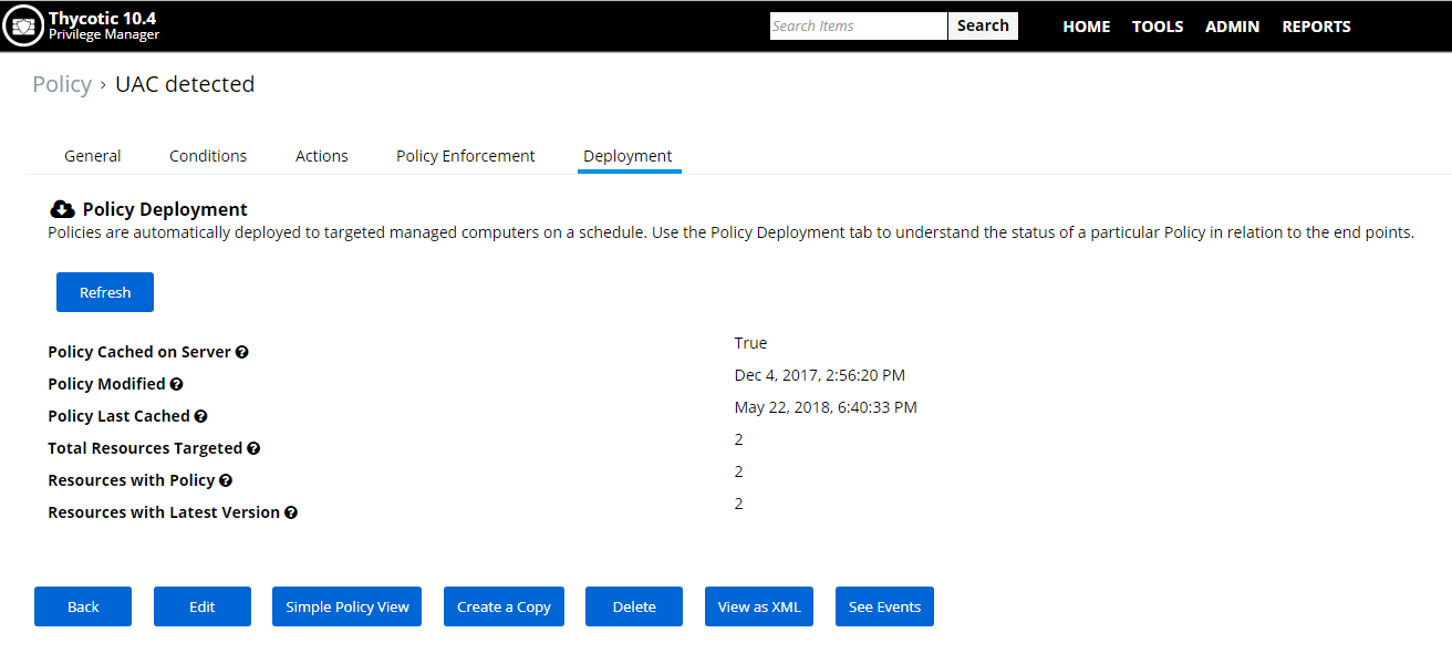Privilege Manager - Flexible Policy Deployment