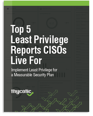 Top 5 Least Privilege Reports CISOs Live For