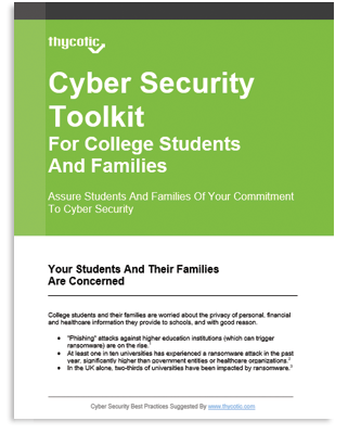Cyber Security Toolkit for College Students and Families