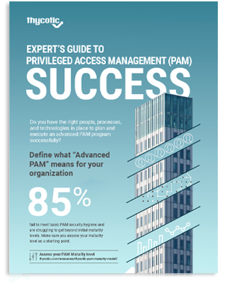 Expert's Guide to PAM Success Infographic
