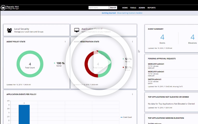 Demo Video: Quickly gain visibility into your endpoints with Privilege Manager and protect them right away