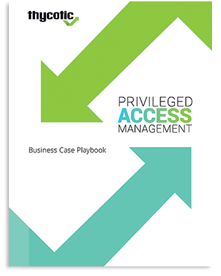 PAM Business Case Playbook Cover
