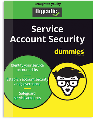 Service Account Security for Dummies eBook Cover