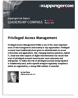 KuppingerCole: Leadership Compass Privileged Access Management