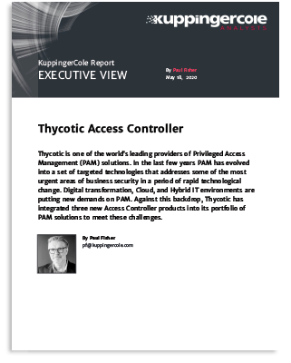 KuppingerCole – Thycotic Access Controller