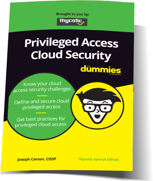 Privileged Access Cloud Security for Dummies Bending Thumbnail