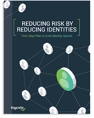 Reducing Risk by Reducing Identities