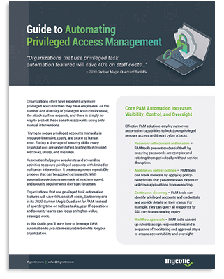 Guide to Automating Privileged Access Management