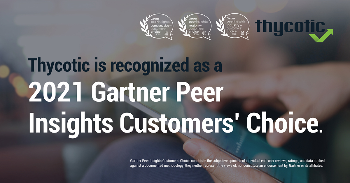 2021 Gartner Peer Insights Customers' Choice