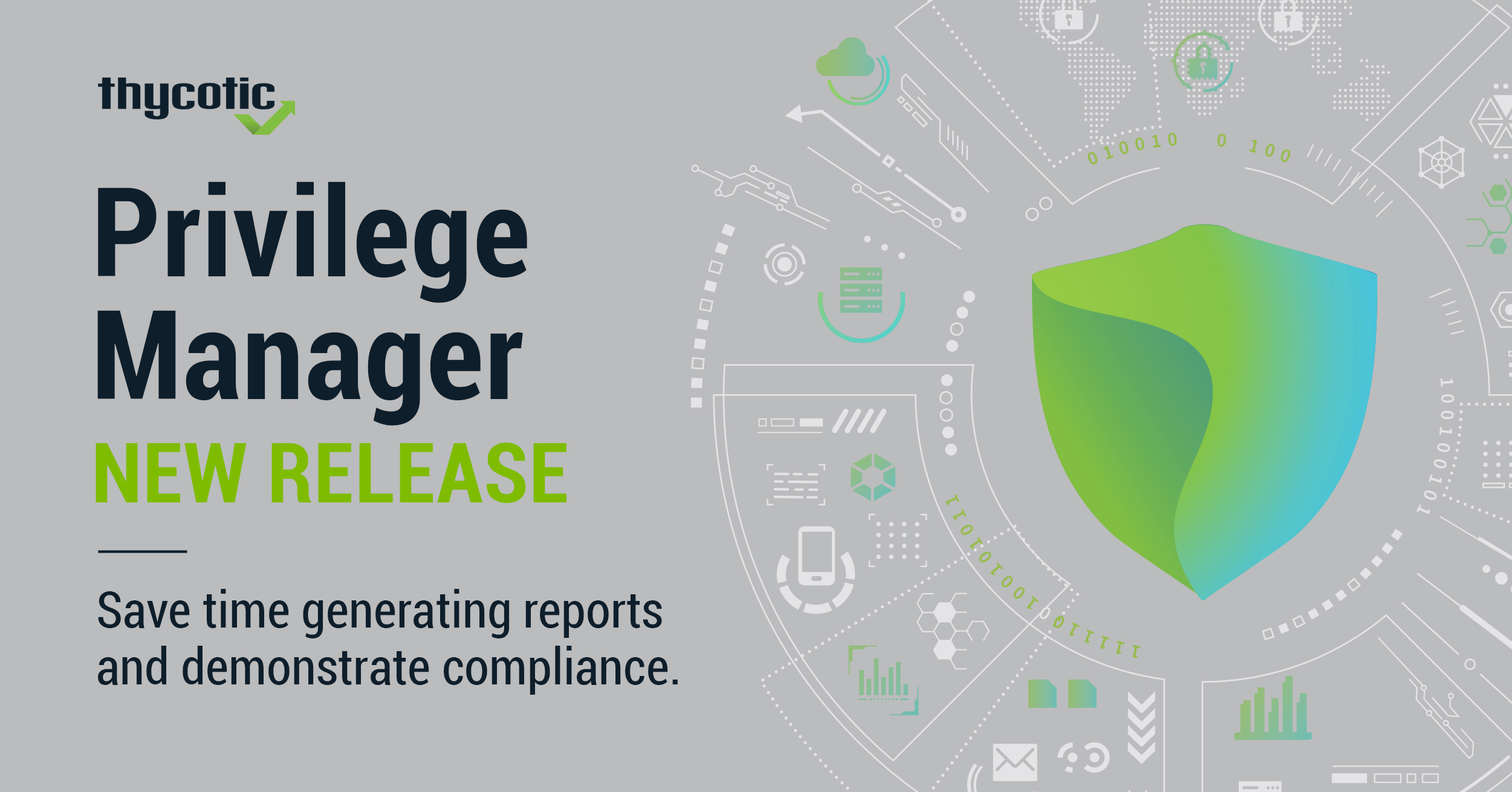Save time generating reports and demonstrate compliance